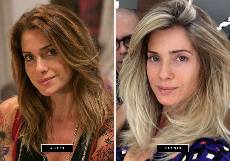 <b>Março de 2017 // Letícia Spiller</b> – depois de viver Lenita em Sol Nascente, a atriz apareceu com os fios loiríssimos para a série Os Dias Eram Assim. A mudança foi feita pelo hairstylist Anderson Couto.