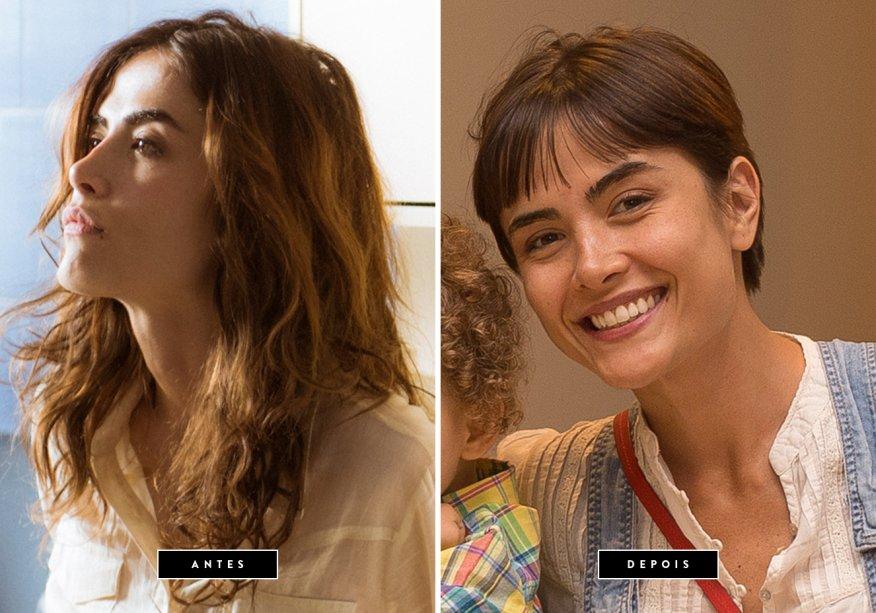 <strong>Outubro de 2017 // Maria Casadevall</strong>- <span>Depois de se despedir da personagem Rimena, na supersérie 'Os Dias Eram Assim', a atriz</span><span>deixou os fios compridos de lado e aderiu ao cabelo joãozinho.</span>