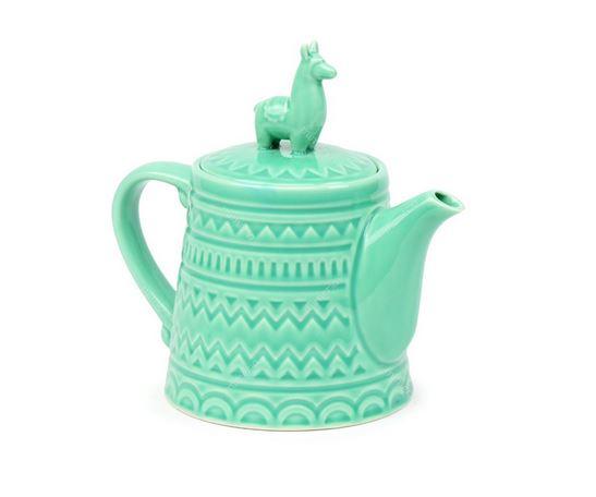 "O bule de cerâmica Lhama verde custa R$ 92 na <a href=""https://www.mimeria.com.br/bule-de-ceramica-lhama-verde"">Mimeria</a>."