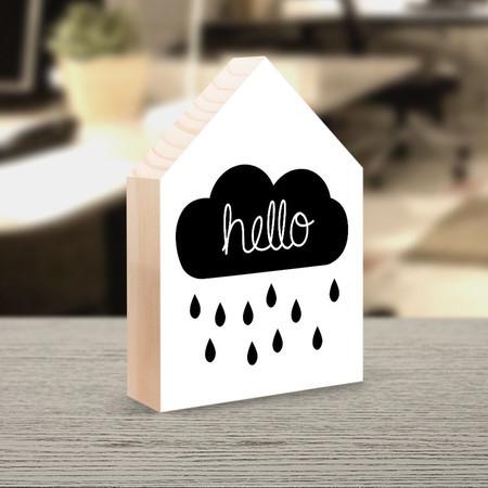 "O totem house Hello Rain custa de R$ 29,90 a R$ 39,90 na <a href=""http://www.decohouse.com.br/pd-543dd1-totem-house-hello-rain.html?ct=&p=1&s=1"">Decohouse</a>."