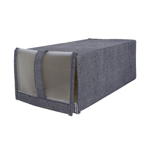 """<a href=""""http://www.camicado.com.br/caixa-organizadora-plie-azul-21x33x15cm-home-style/p/000000000000037191"""">Caixa Organizadora Plie Azul 21 x 33 x 15 cm Home Style</a> – R$ 59,90"""