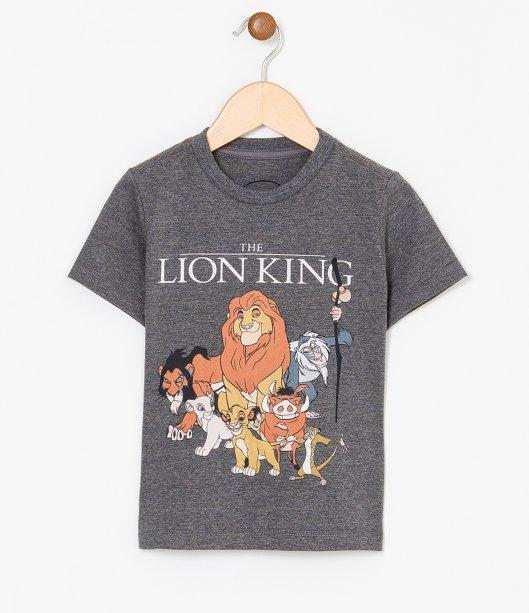 Camiseta infantil estampa Rei Leão (de 1 a 6 anos), R$ 29,90 - Renner