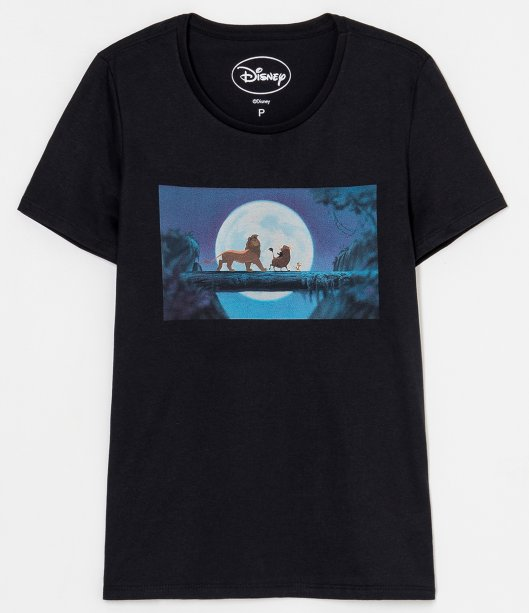 Blusa com estampa Rei Leão, R$ 39,90 - Renner