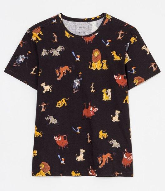 Camiseta manga curta estampa Rei Leão, R$ 59,90 - Renner