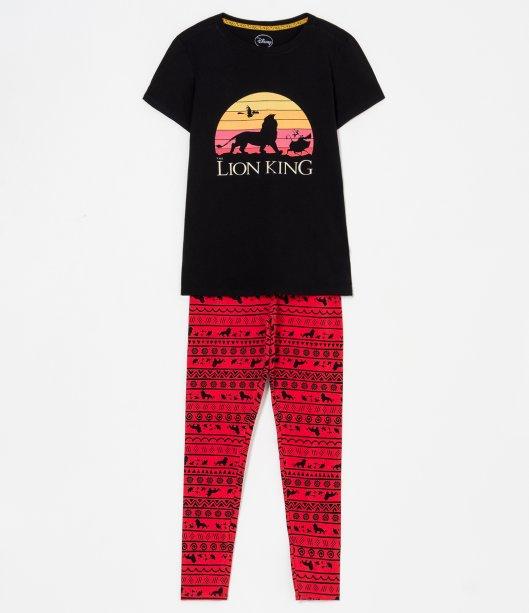 Pijama manga curta estampa Rei Leão, R$ 99,90 - Renner