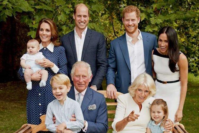 família real britanica