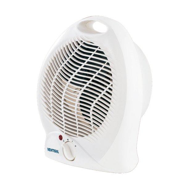 """Aquecedor termoventilador, da Ventisol, com uma opção de ventilação e duas de aquecimento. <a href=""""https://www.leroymerlin.com.br/aquecedor-de-ambientes-termoventilador-220v--ventisol_87909934"""" target=""""_blank"""" rel=""""noopener"""">Leroy Merlin</a>, R$ 78,90"""