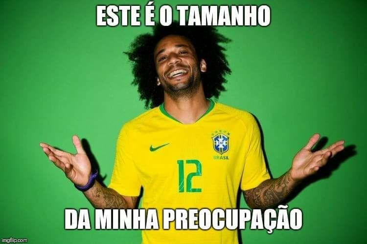 Ao que tudo indica, o lateral-esquerdo Marcelo está confiante e não tá nem um pouco preocupado com os times que vai enfrentar.