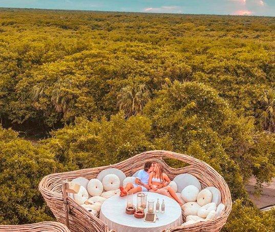 Conheça o hotel onde Whindersson Nunes e Luísa Sonza estão hospedados no México