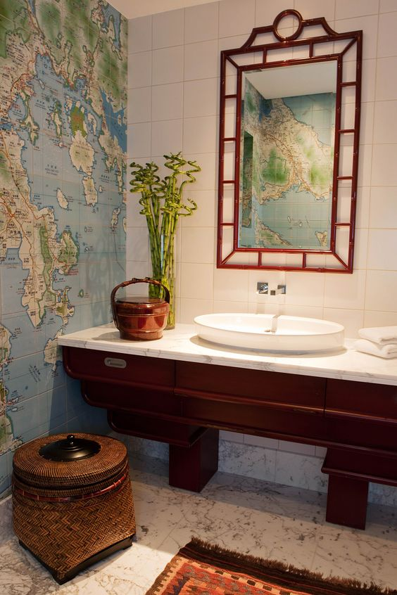plantas para ter no banheiro - bambu