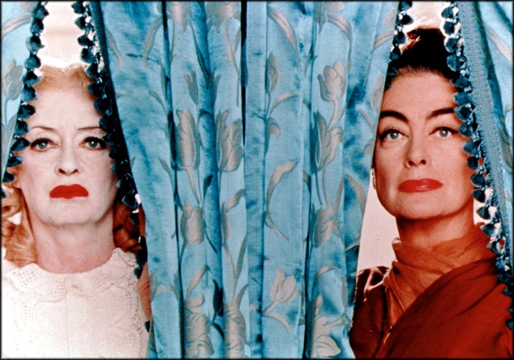 """Bette Davis e Joan Crawford, em """"O que Teria Acontecido a Baby Jane?"""""""