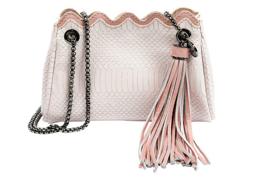 Bolsa de couro, <strong>La Spezia</strong>, R$ 589