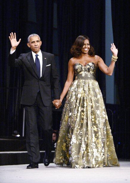 Vestido: Naeem Khan // Evento: Jantar anual da White House Correspondents' Association // Data: 17.09.16