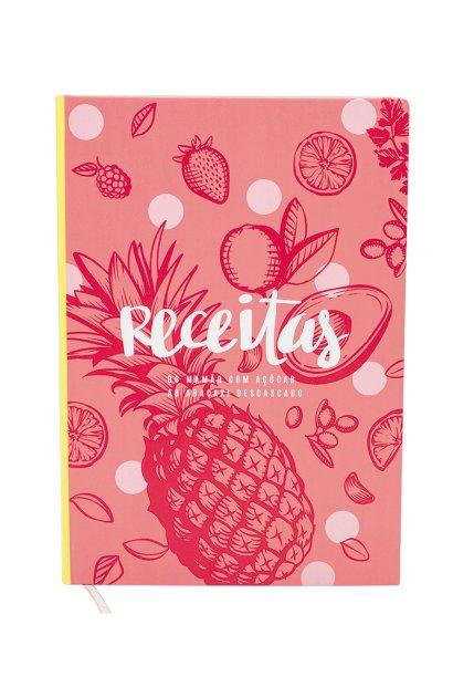 Caderno de receitas,<strong> Imaginarium</strong>, R$ 65*
