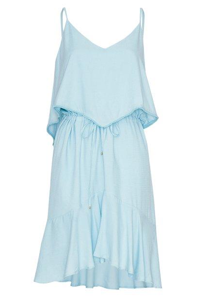 Vestido de algodão,<strong> Maria Filó</strong>, R$ 329