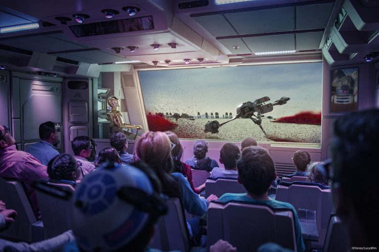 Star Wars Star Tours Disney