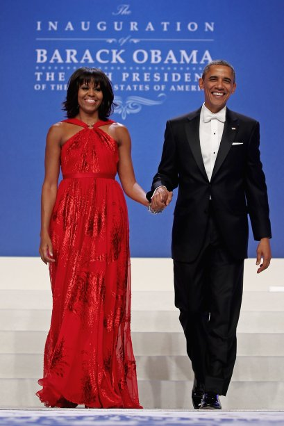 Vestido: Jason Wu // Evento: Baile inaugural do segundo mandato de Barack Obama // Data: 21.01.13