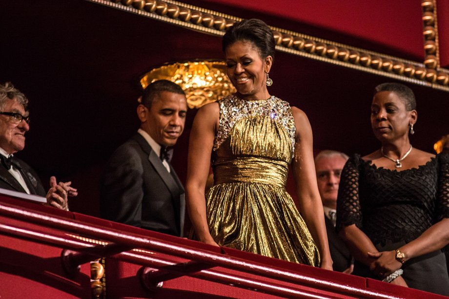 Vestido: Michael Kors // Evento: The Kennedy Center Honors // Data: 02.12.12