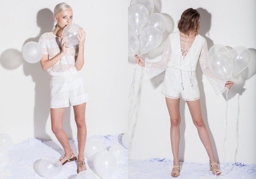 <strong>Lebôh</strong>. Marca jovem do grupo Morena Rosa, a Lebôh sugere peças de Réveillon para diversos estilos: vestidos fluidos e transparentes, shorts de alfaiataria, camisetas e regatas leves e macaquinhos.