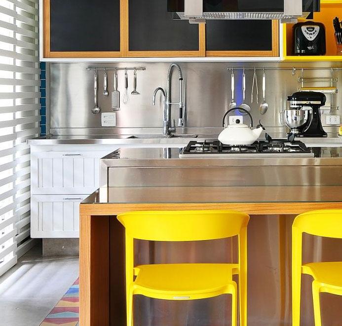 cozinha revestimento em cima da pia