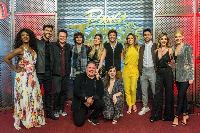 Participantes dança dos famosos 2018