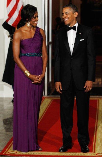 Vestido: Doo-Ri Chung // Evento: Jantar para o presidente sul-coreano // Data: 04.12.11