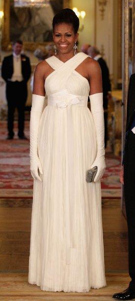 Vestido: Tom Ford // Evento: Jantar no Palácio de Buckingham // Data: 24.05.11