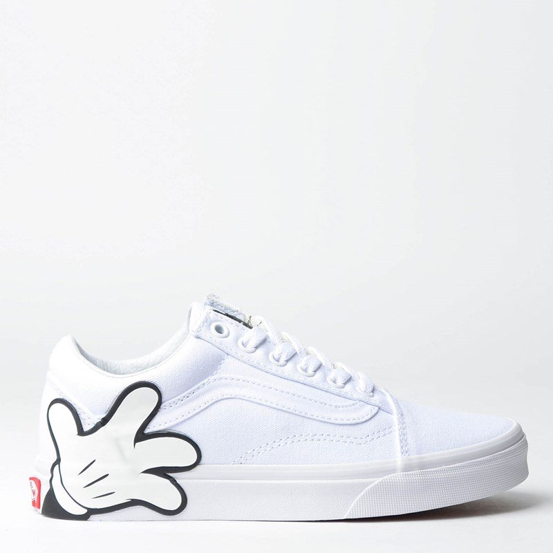Tênis Vans Old Skool Disney Mickey True White
