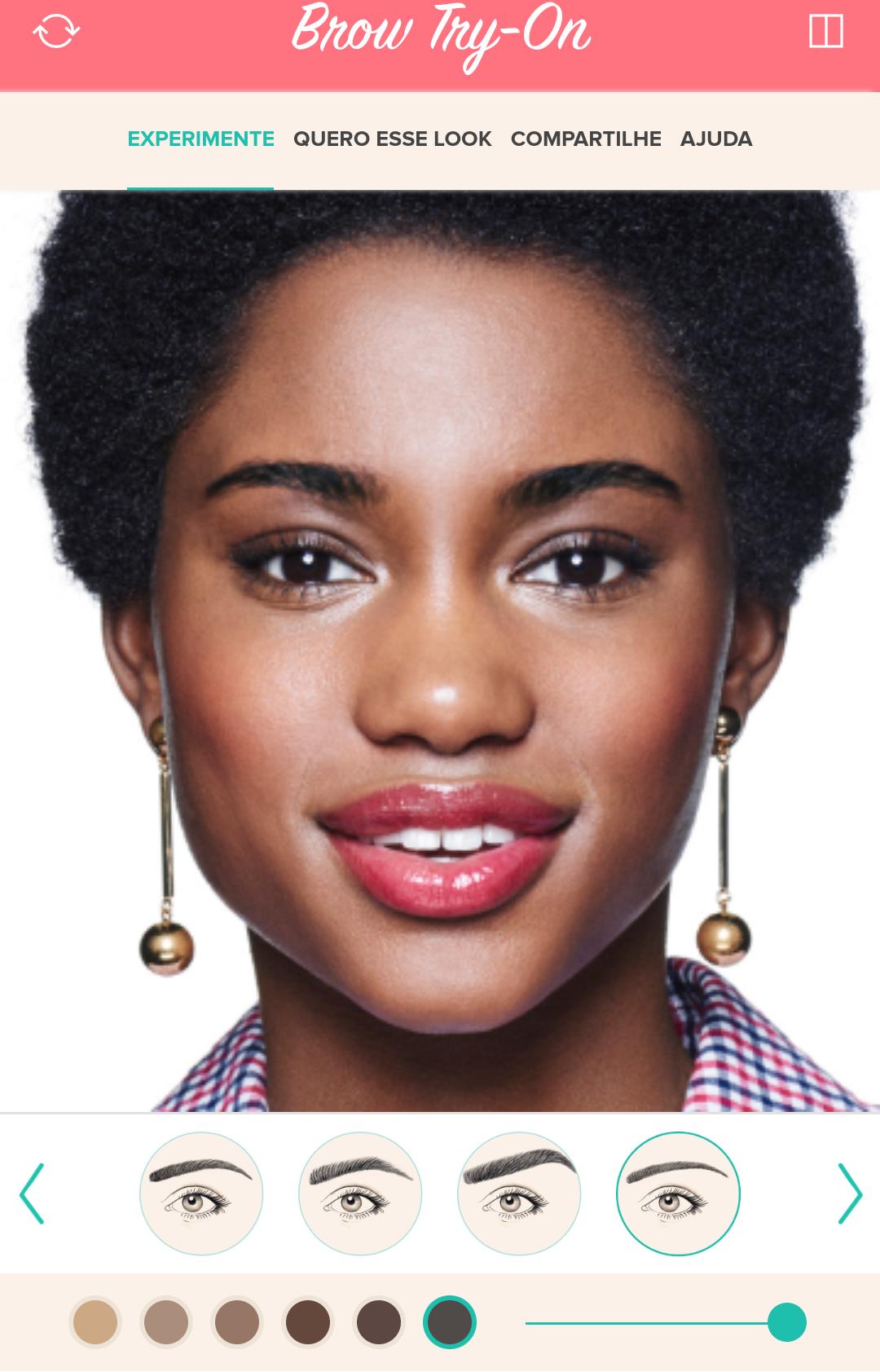 Nova tecnologia da Benefit te ajuda a descobrir qual o melhor formato de sobrancelhas para seu rosto