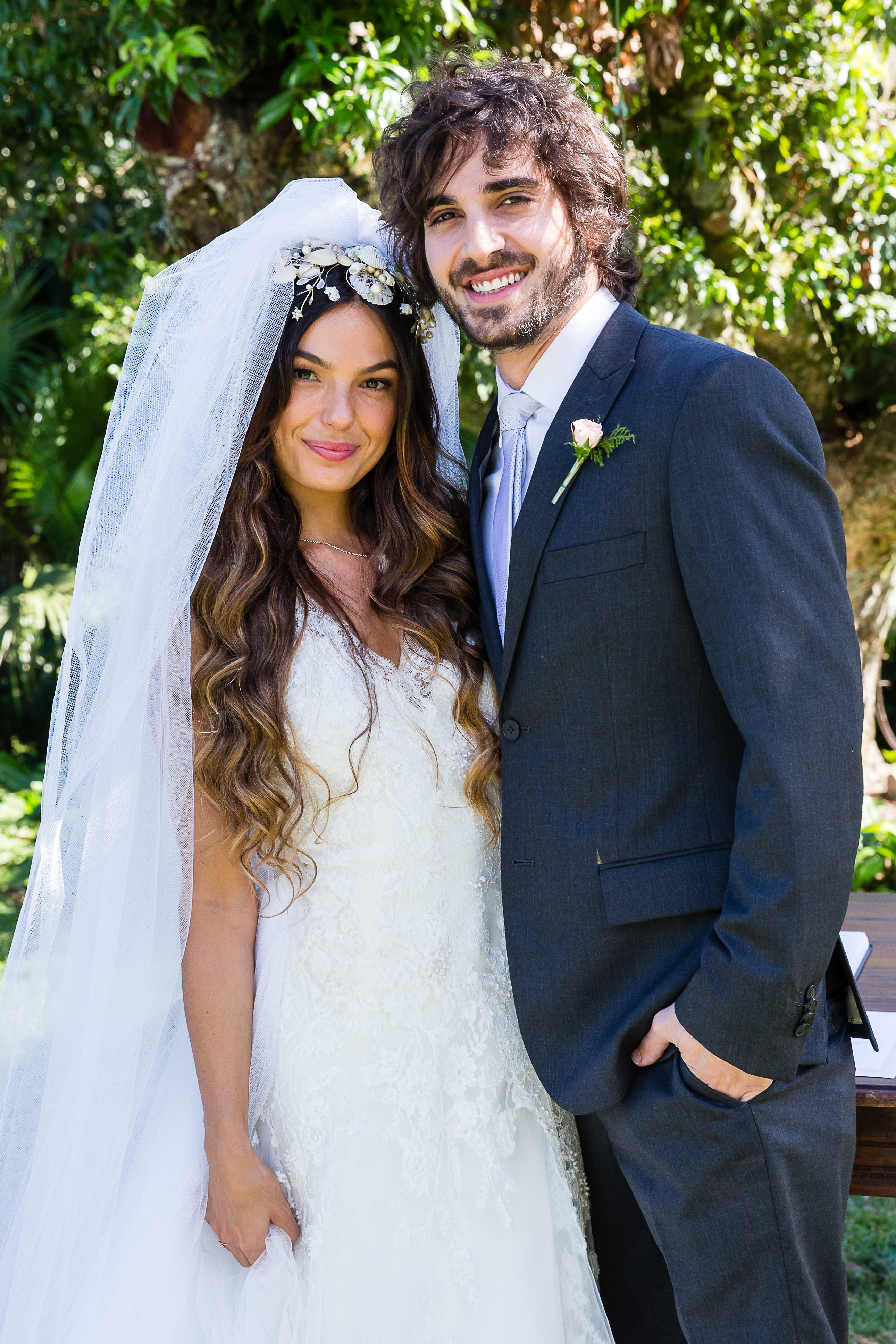 A Força do Querer/Casamento Ritinha ( Ísis Valverde ) e Ruy ( Fiuk )
