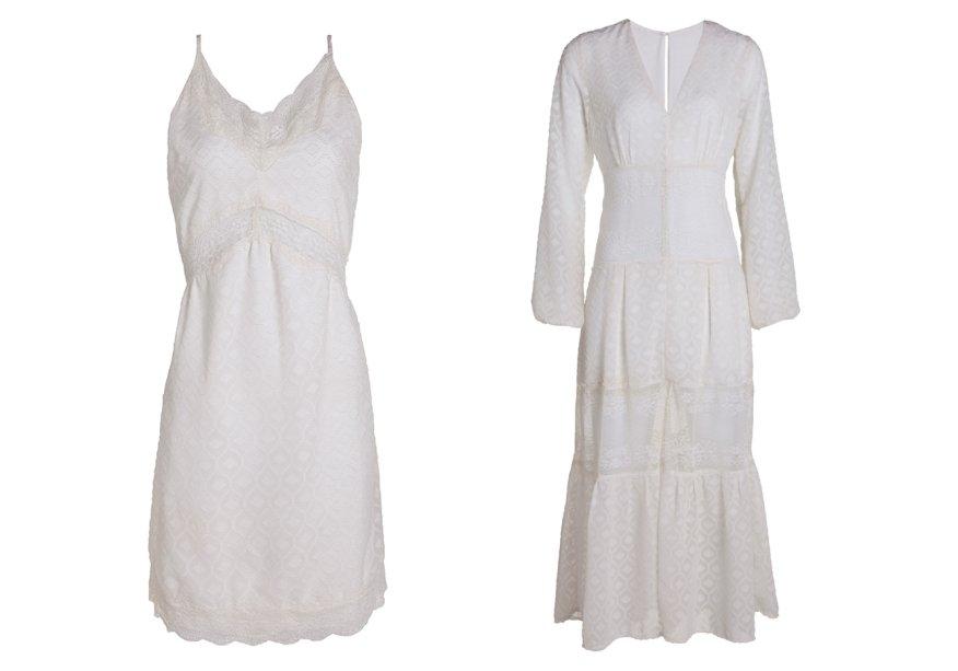 <strong>Valisere</strong>. Pela primeira vez, a marca lança uma coleção de Réveillon composta por peças além da lingerie e traz opções de slip dresses para compor o look da virada. O longo custa R$ 399,90 e o curto, R$ 259,90.
