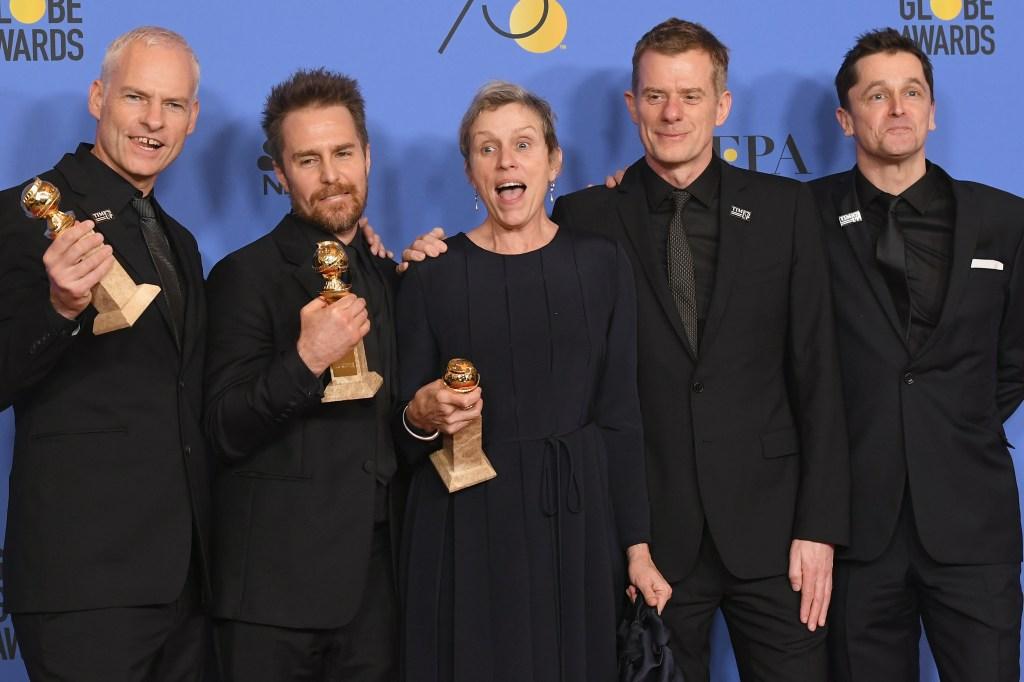 Três Anúncios para um Crime vencedor Globo de Ouro 2018