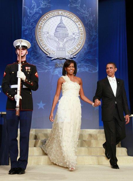 Vestido: Jason Wu // Evento: Baile inaugural do primeiro mandato de Barack Obama // Data: 20.01.09