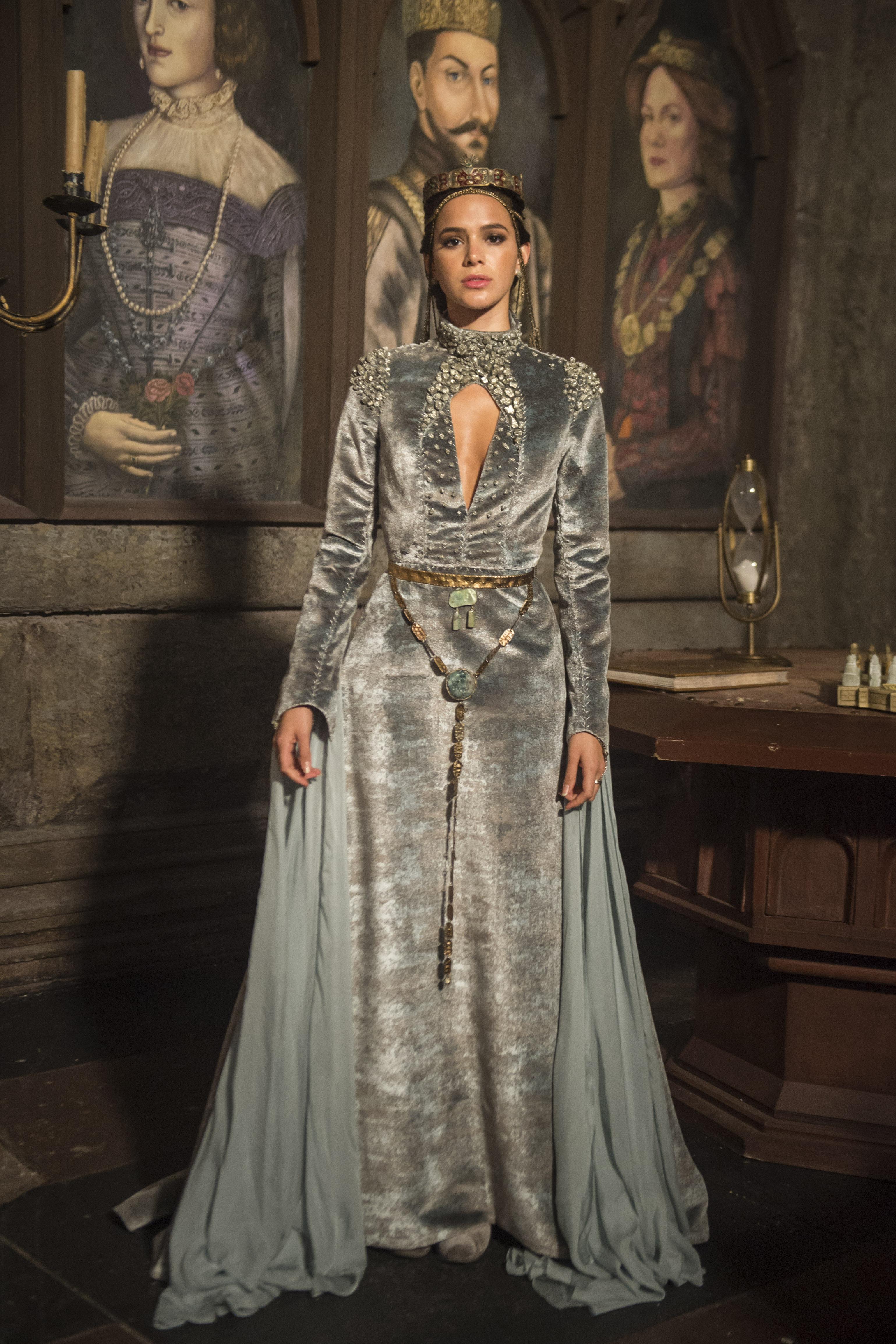 Vestido de noiva de Catarina (Bruna Marquezine)