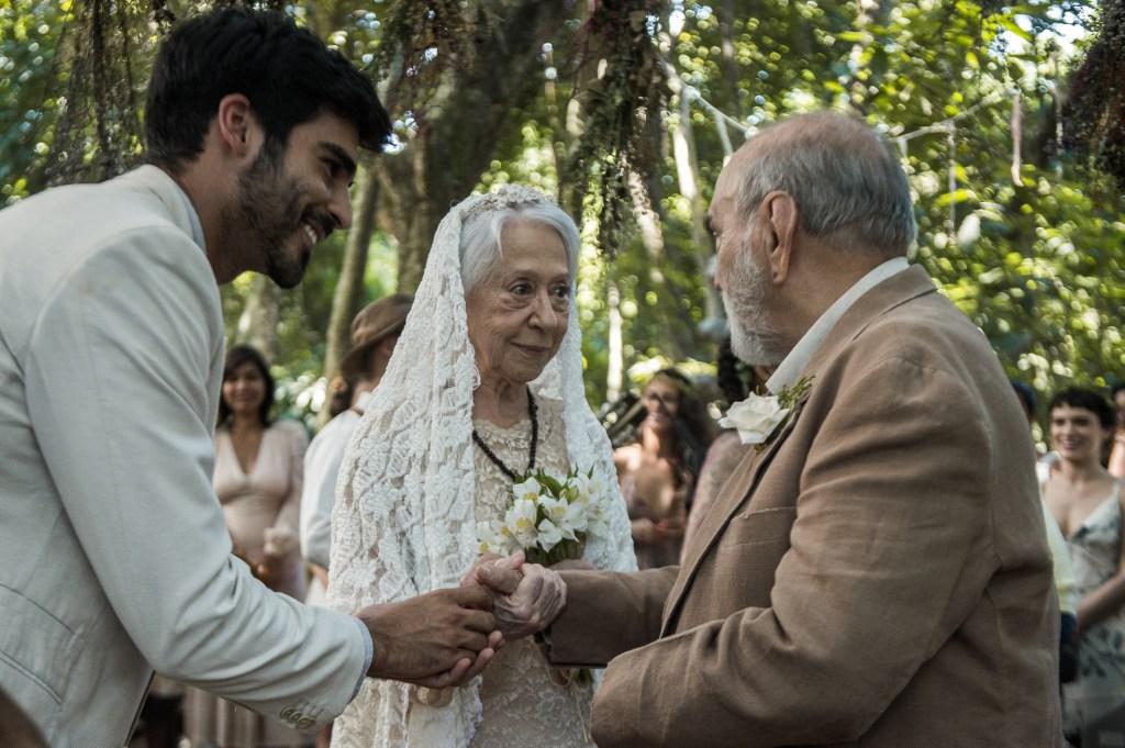 O Outro Lado do Paraíso Casamento Mercedes (Fernanda Montenegro) e Josafá (Lima Duarte)