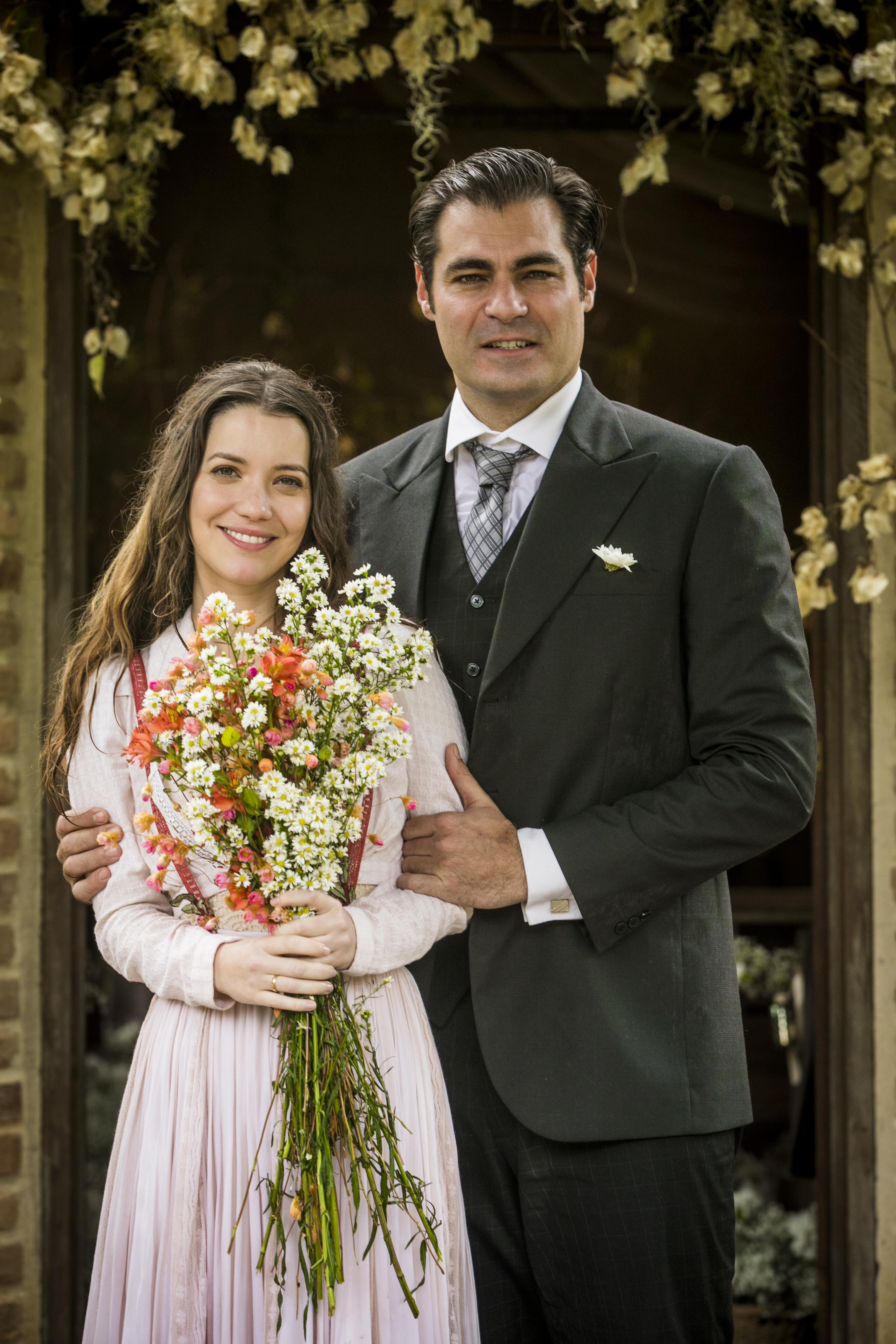 Orgulho e Paixão: Casamento de Darcy (Thiago Lacerda) e Elisabeta (Nathalia Dill)