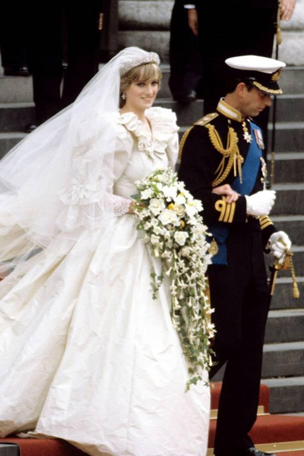 Looks icônicos Princesa Diana