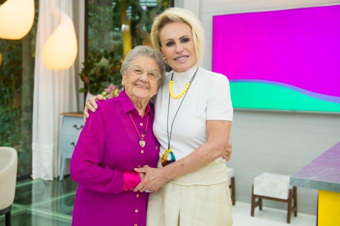 Ana Maria Braga recebe Palmirinha no seu programa