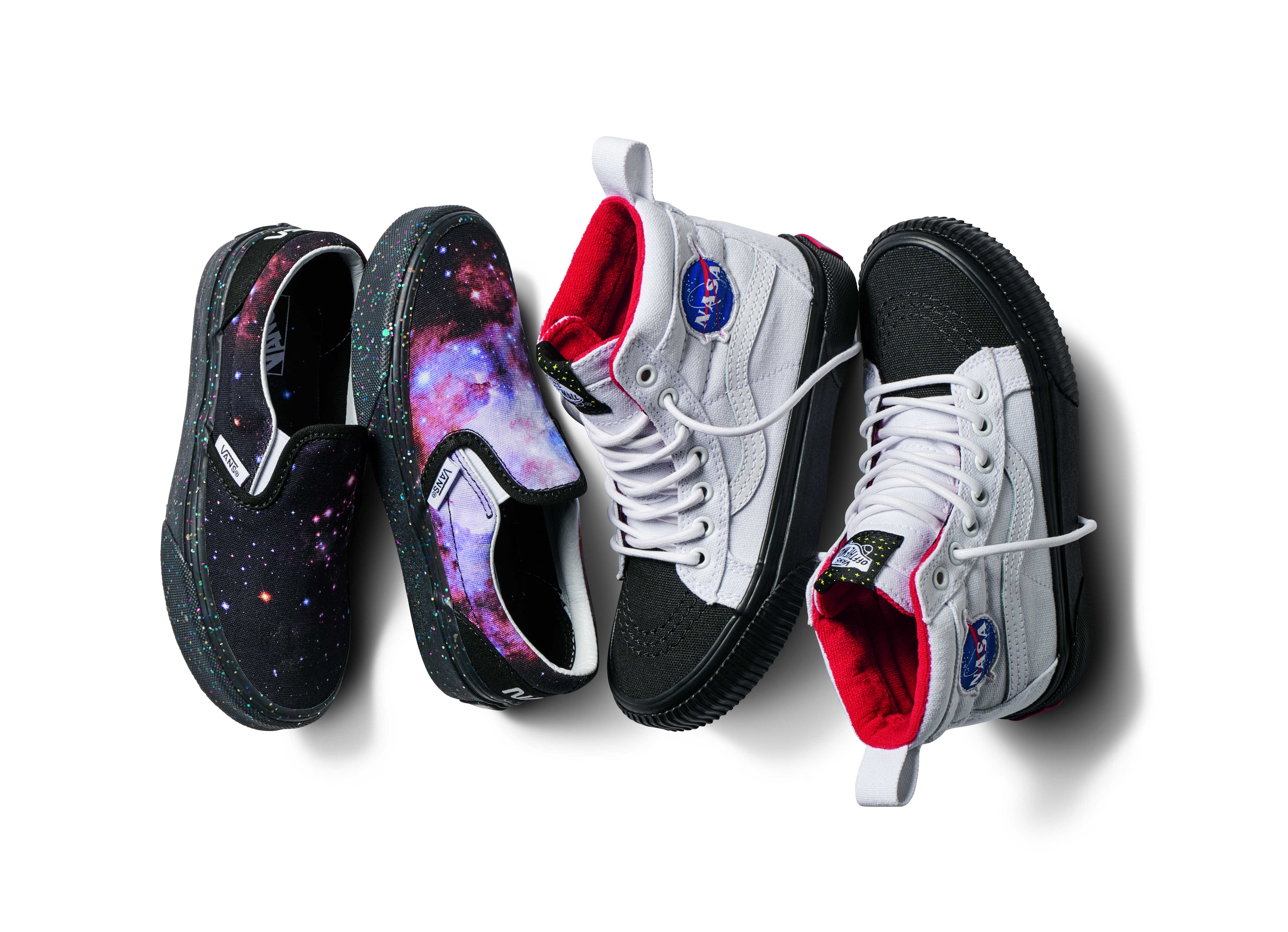 Vans cria coleção em homenagem à NASA