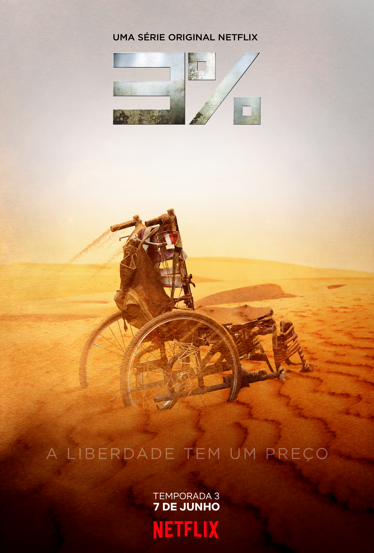 Imagem de divulgação da 3ª temporada de '3%'