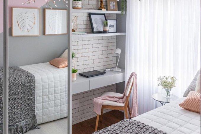 home office no quarto