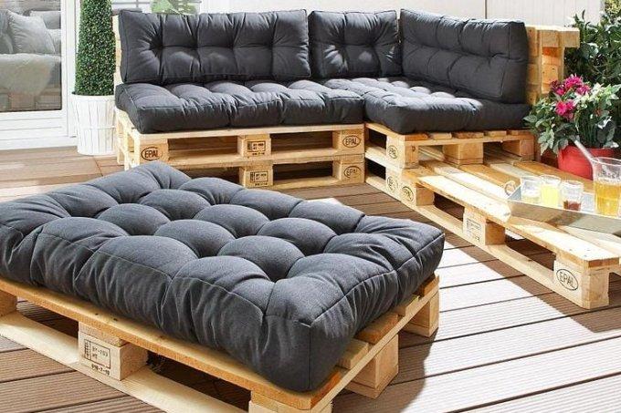 sofá de páletes