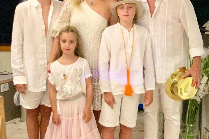 Luciano Huck, Angélica e filhos