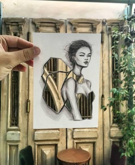 ilustrador moda e arquitetura
