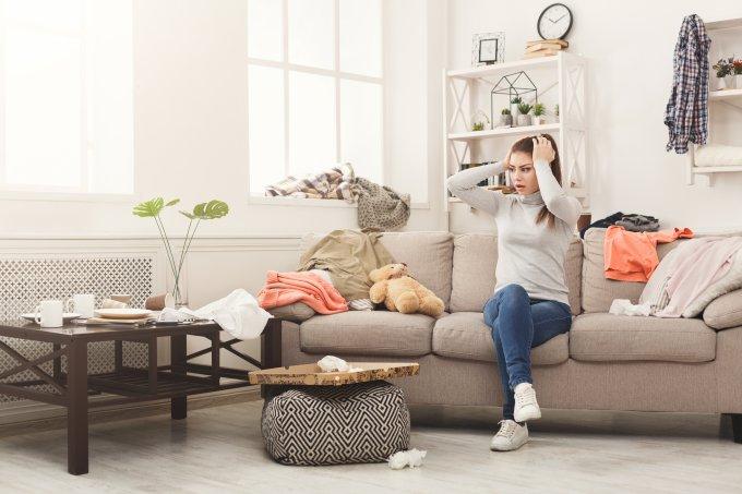 6 erros que você comete e fazem sua casa estar sempre desarrumada