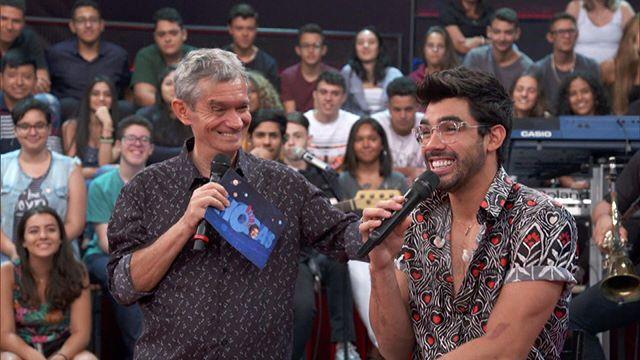 Gabriel Diniz e Serginho Groisman
