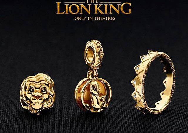 Linha Pandora do Rei Leão
