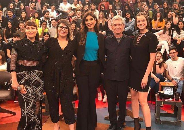Altas horas 7 de setembro, Marilia Mendonça, Pitty, Andreia Sadi, Pitty