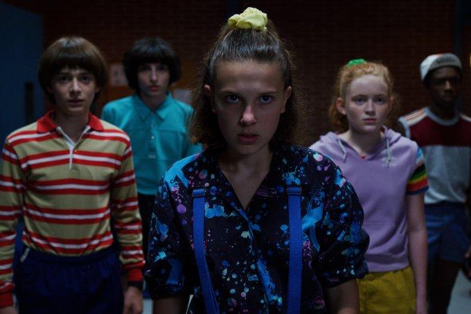 Eleven em Stranger Things