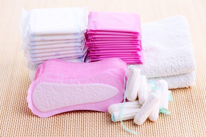 Absorventes, absorventes internos, protetores de calcinha erros